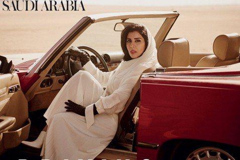 讓《VOGUE》滿頭包的爭議專題...。 圖/《Vogue Arabia》201...