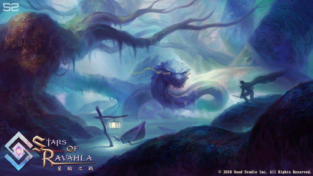 亡毒魔沼中的恐佈巨蟒將默默等待著玩家