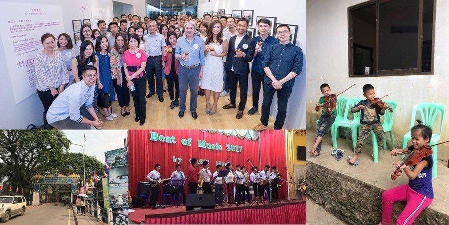 由凱恩一手創辦的Build A Music School組織,把緬甸景楝鎮上孤兒...