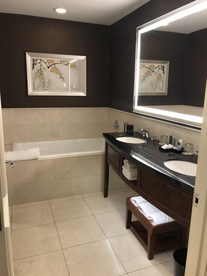 接著來看浴室,這是我個人認為芝加哥JW萬豪另一個賣點 圖文來自於:TripPlu...