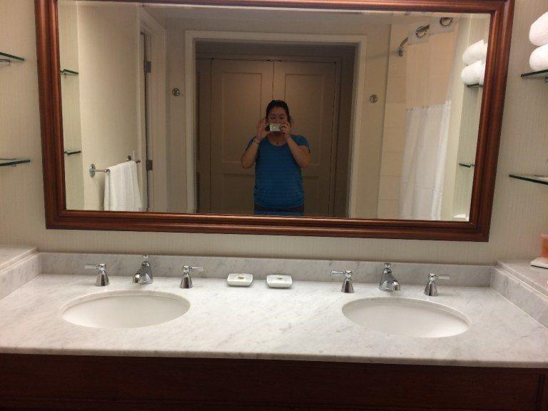 雙洗手台。圖文/TripPlus提供