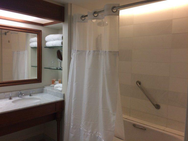有浴缸,但是沒有分開的淋浴間。圖文/TripPlus提供