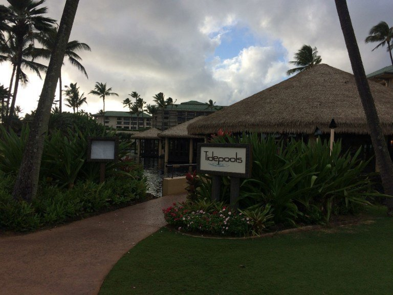 Tidepools餐廳,以夏威夷當地的海鮮料理以及牛排為主。圖文/TripPlu...