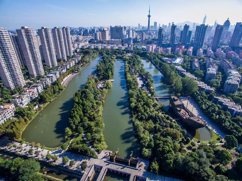 南京的鄭和造船遺址 ©視覺中國