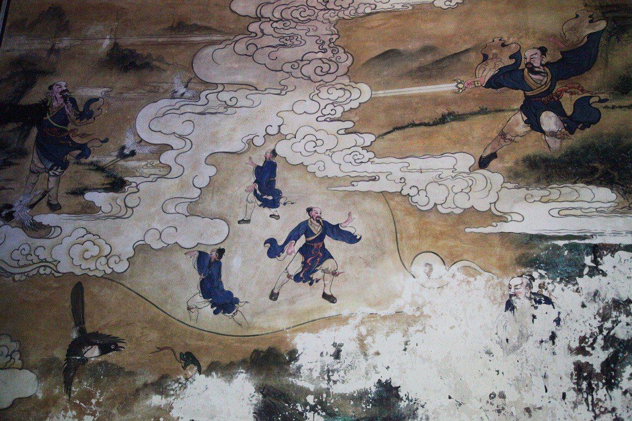 湖北十堰,武當山紫霄宮圖。 ©武仲林/CPTphoto