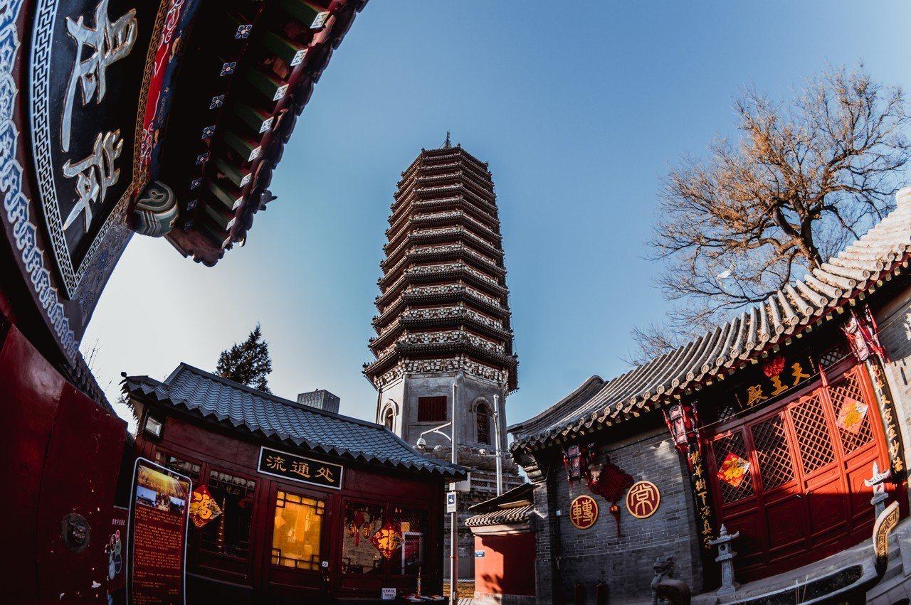 三廟一塔 ©視覺中國