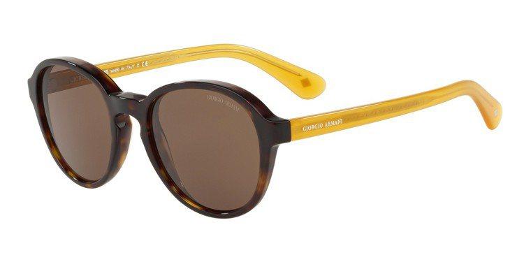 Giorgio Armani精髓傳承系列春夏太陽眼鏡,約10,500元。圖/LU...