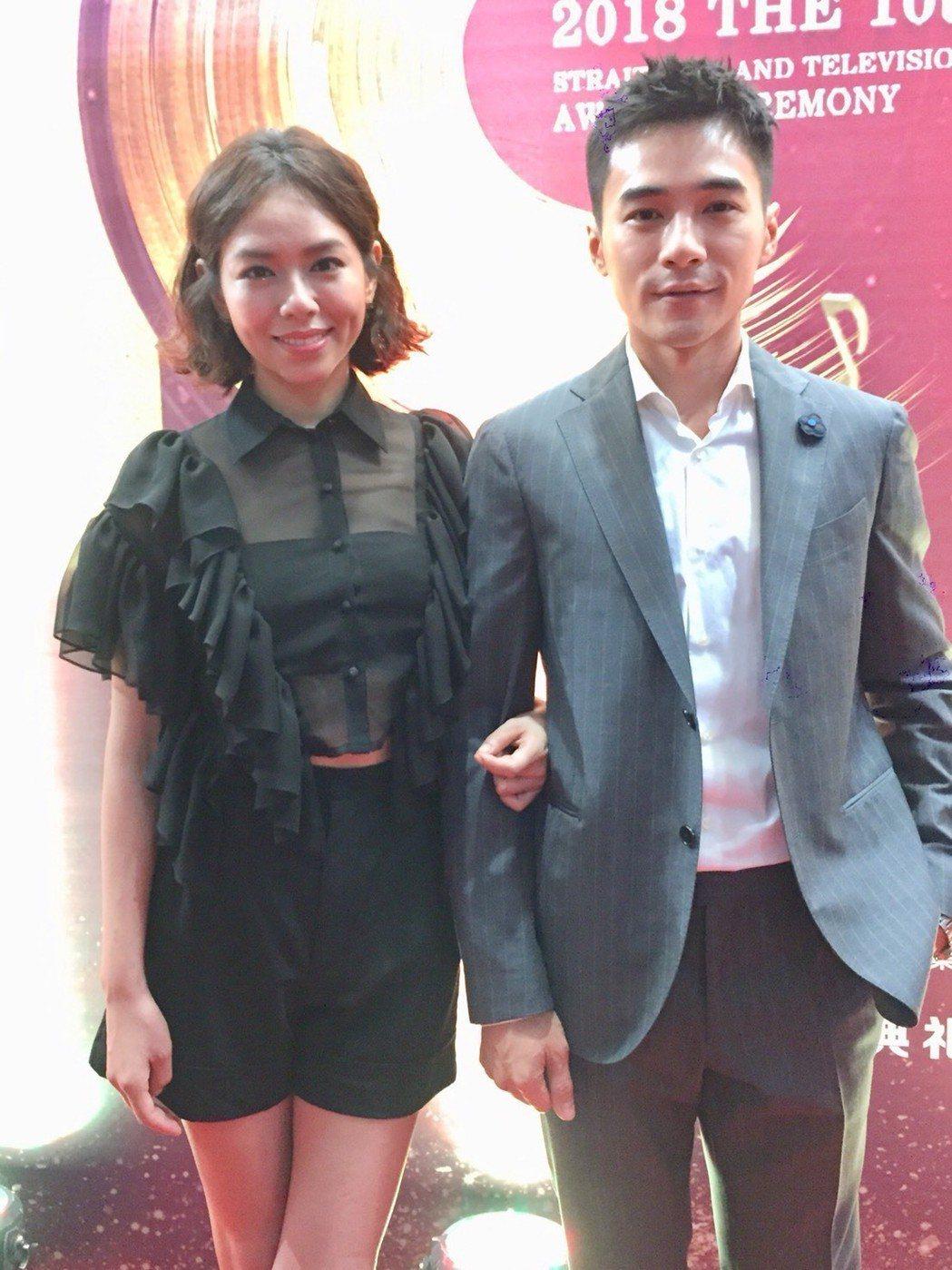 是元介、夏于喬擔任觀禮嘉賓。記者陳慧貞/攝影