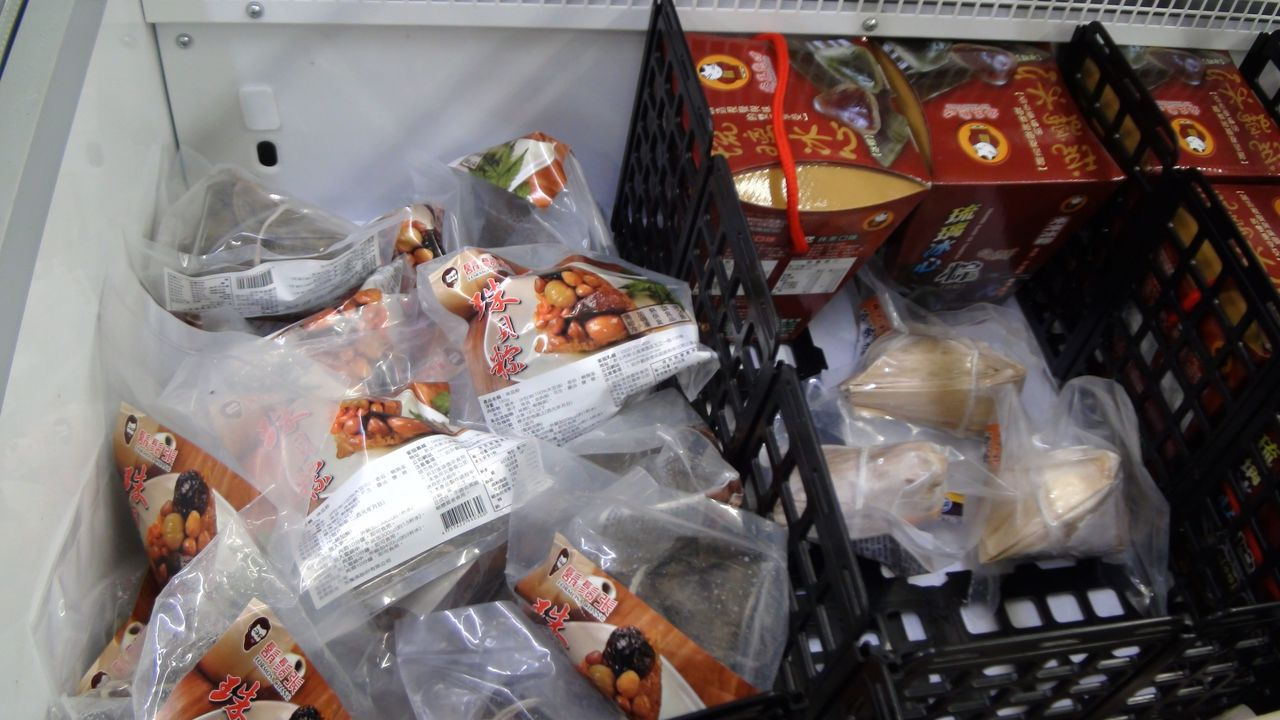 獨享粽依個人口味推出不少特色風味粽子。記者謝梅芬/攝影