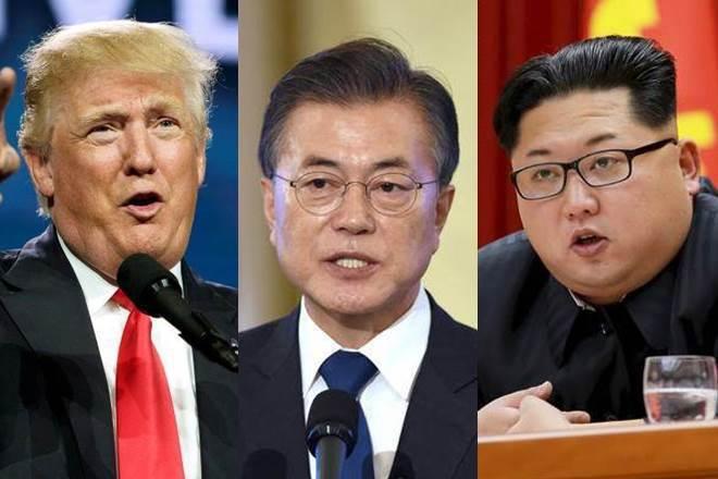 川普、文在寅、金正恩三人可能在下周共同宣布韓戰結束? (路透)