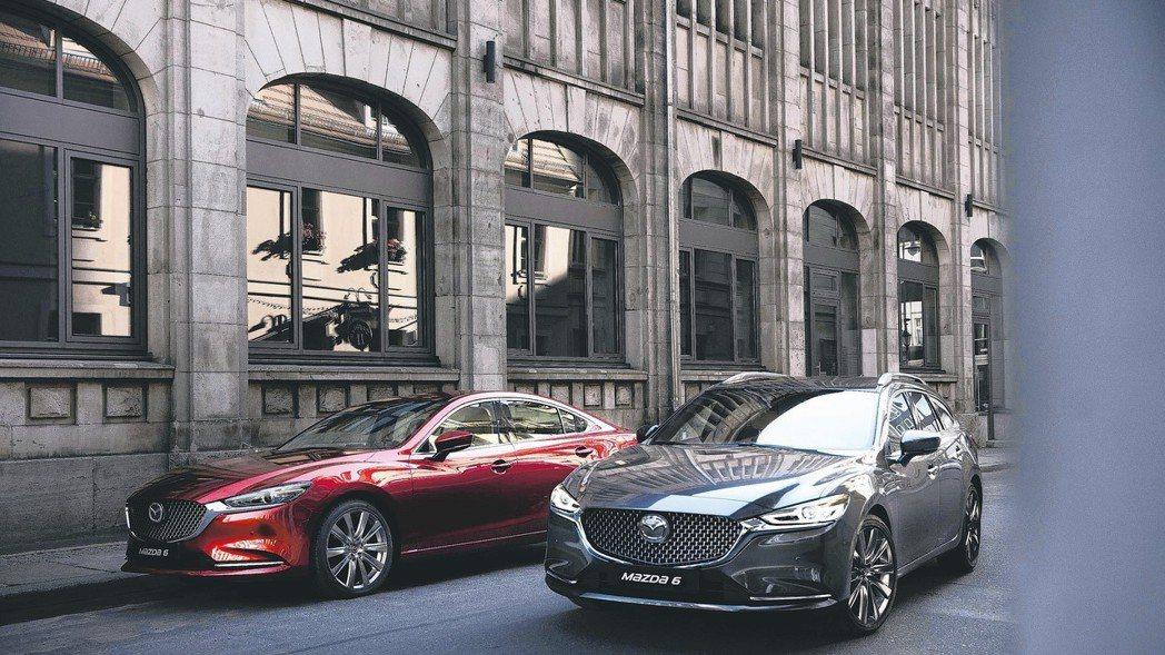 All-new Mazda6與兼具優美造型、實用空間的All-new Mazda...