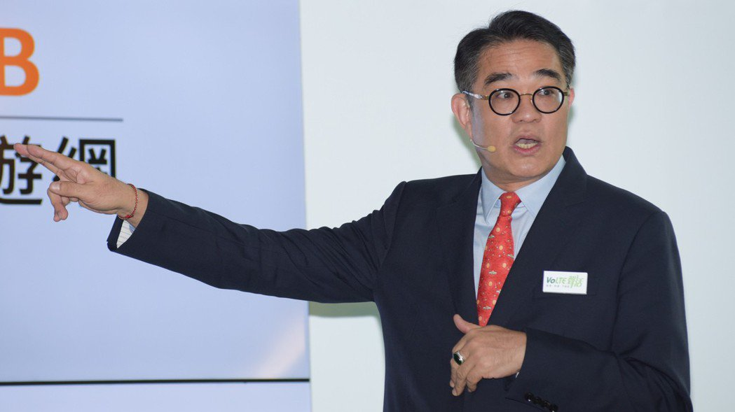 鴻海子公司富士康工業互聯網(FII)董事長陳永正。 報系資料照