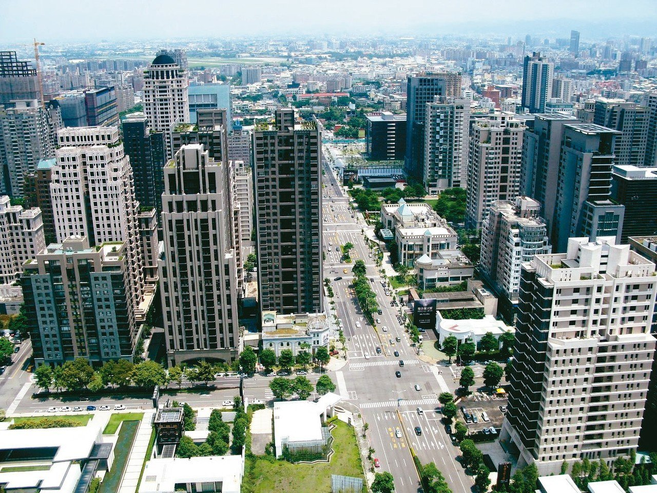 台中七期商辦以新市政中心區最具投資潛力。 圖/聯合報系資料照片