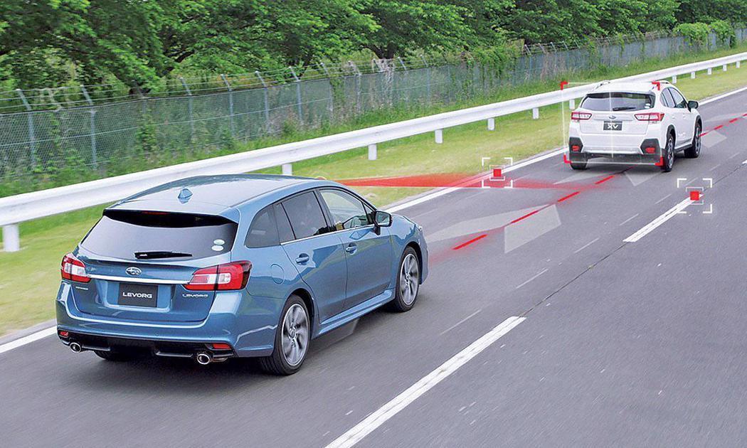 Levorg 2.0L也會搭載重要的EyeSight智能駕駛安全輔助系統。 圖/Subaru提供