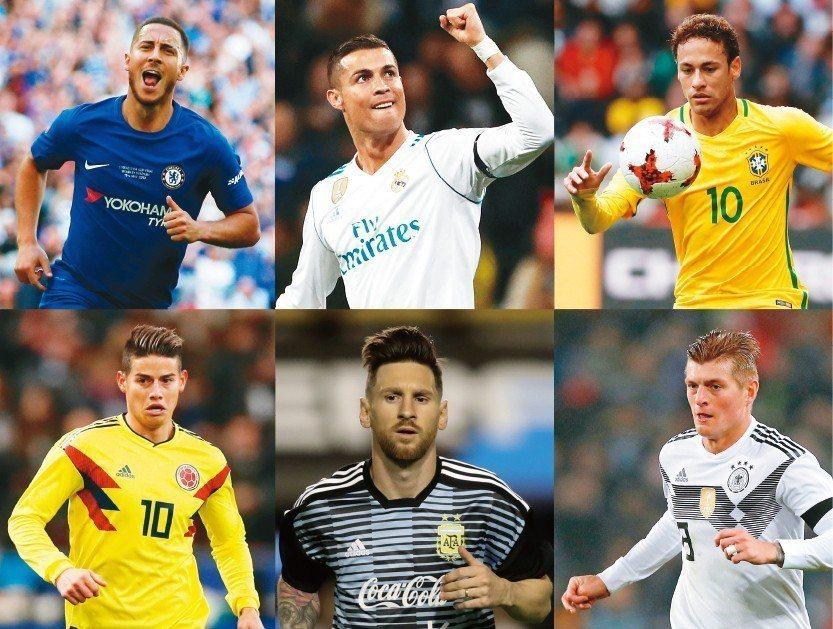 等了四年!全球矚目的2018俄羅斯世界盃足球賽即將在6月14開打。 路透、歐新社
