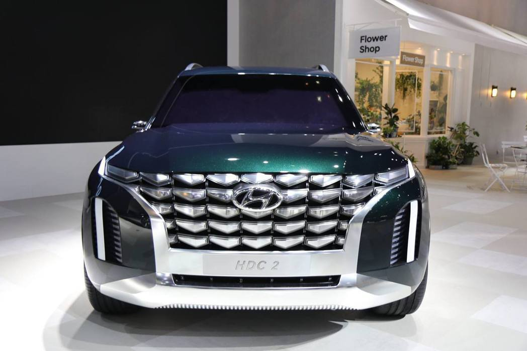HDC-2 Hyundai Grandmaster Concept。 摘自Hyu...