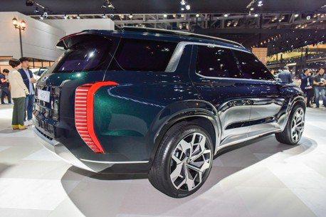 全新LSUV可能長這樣? Hyundai Grandmaster Concept釜山車展現身