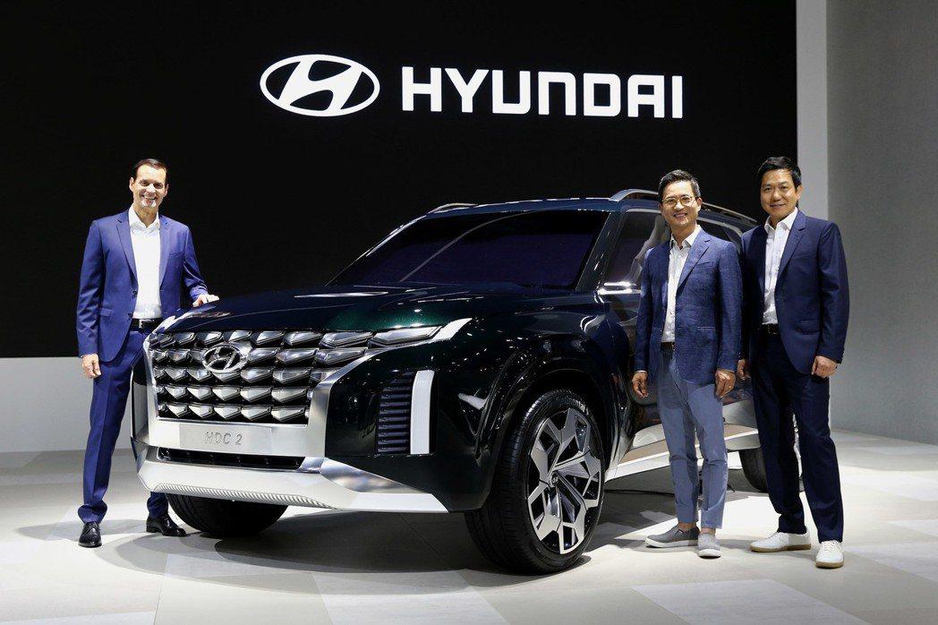 HDC-2 Hyundai Grandmaster Concept,目前正在釜山...