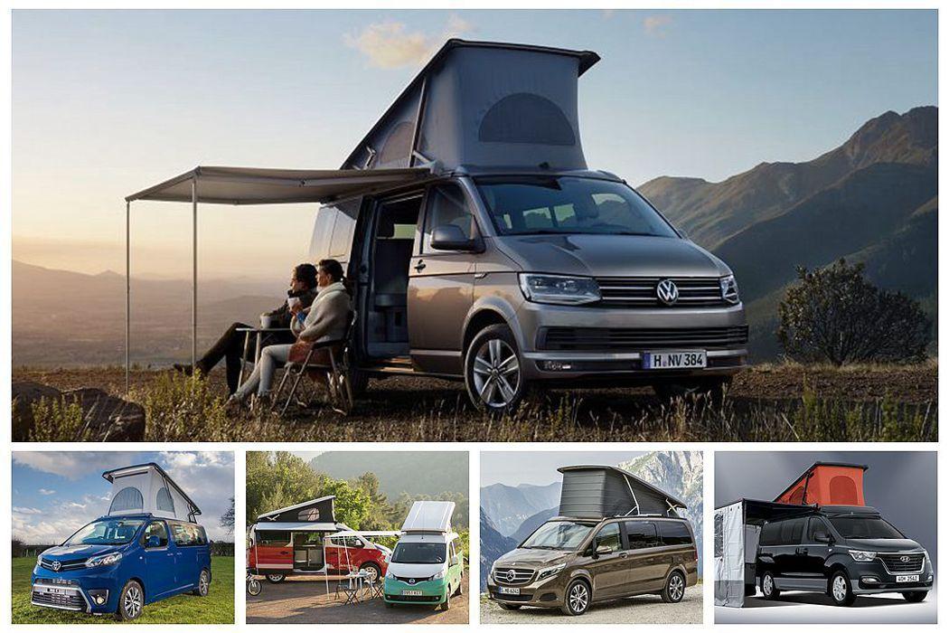 福斯商旅California露營車光去年於全球就賣出1.5萬輛佳績,讓許多車廠紛...