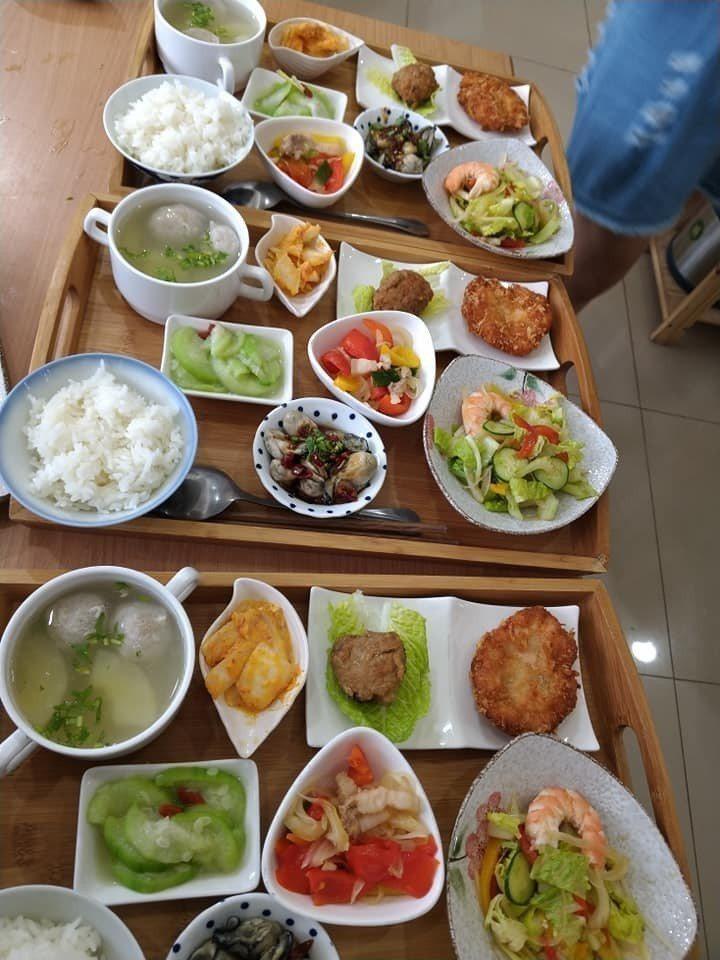 也有精緻可口好吃健康的風味餐。記者蔡維斌/攝影