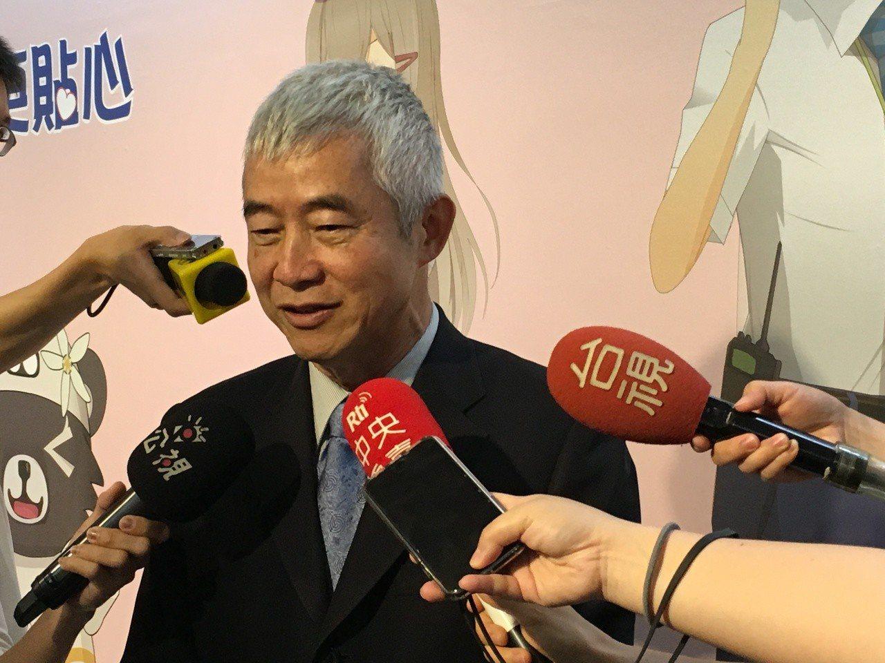 交通部長賀陳旦今指出,下半年將確立台鐵公司化的經營方向。 記者吳姿賢/攝影
