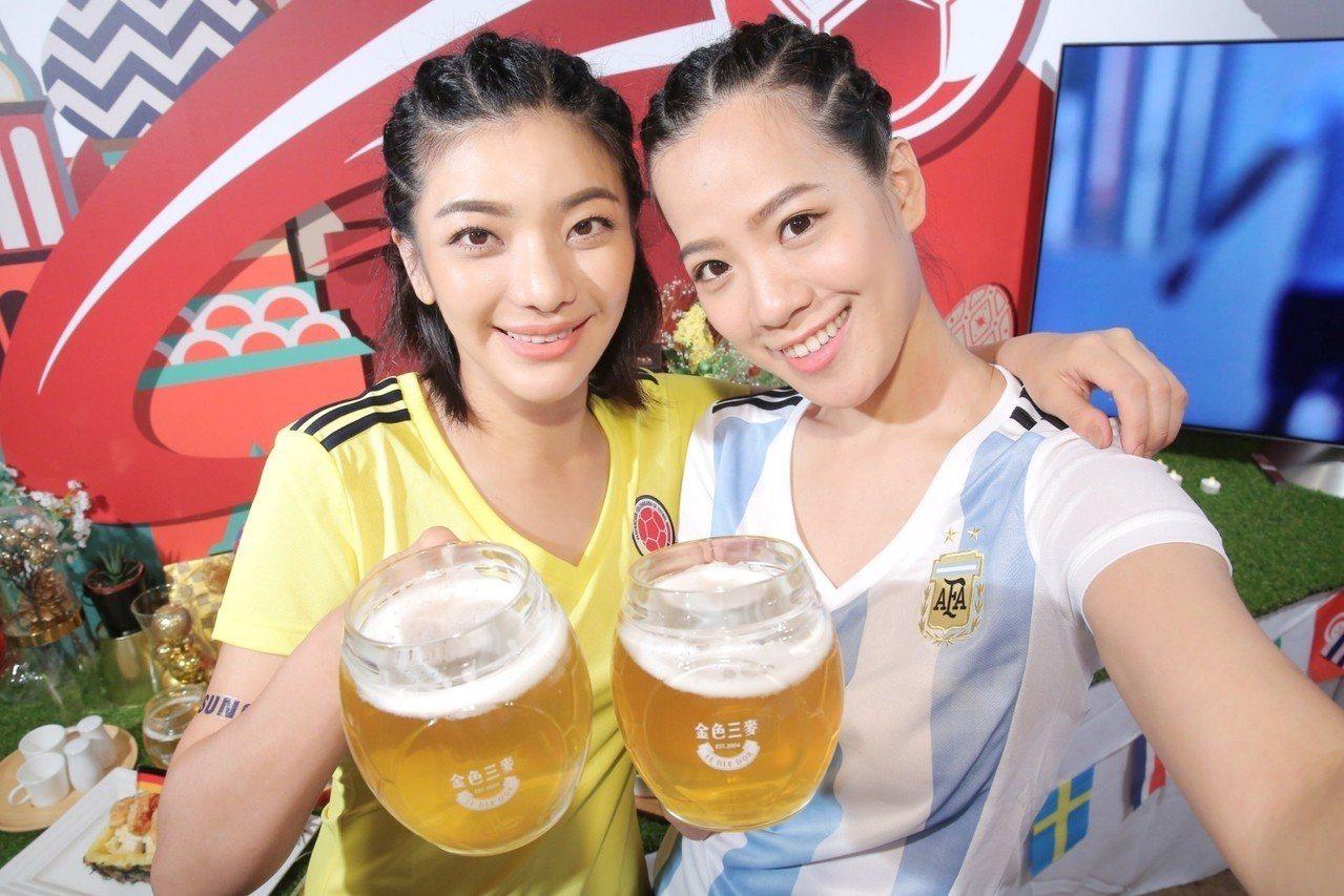 金色三麥「全民麥亂踢」遊戲組隊挑戰勝利,即得限量世足造型酒杯、啤酒免費霸飲半年。...