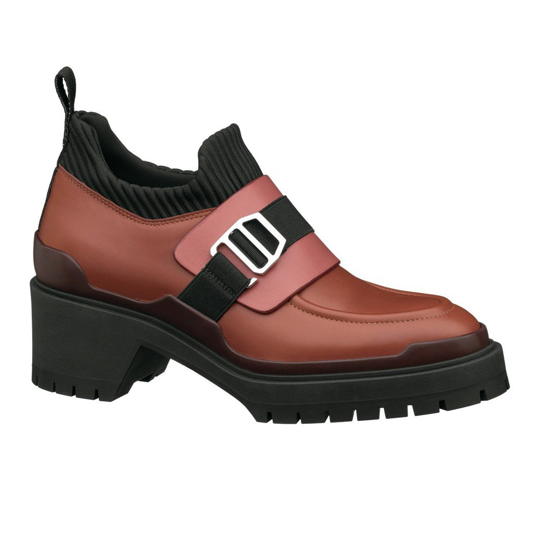 Special 系列 Nappa 小牛皮與技術性帆布拼接德比鞋,結合男士德比鞋造...