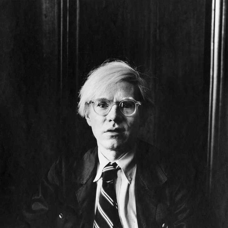 Peter Hujar拍攝的Andy Warhol。圖/LOEWE提供