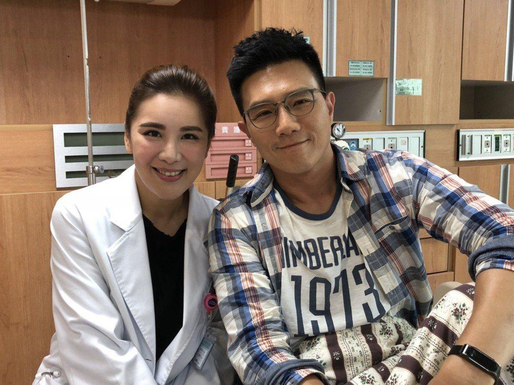 蔣偉文加入「實習醫師鬥格」演出小禎初戀男友。圖/民視提供