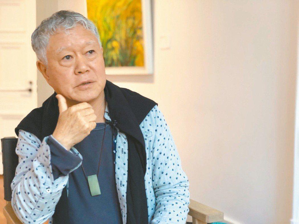 蔣勳首度在大陸舉辦個展。 圖/谷公館畫廊提供