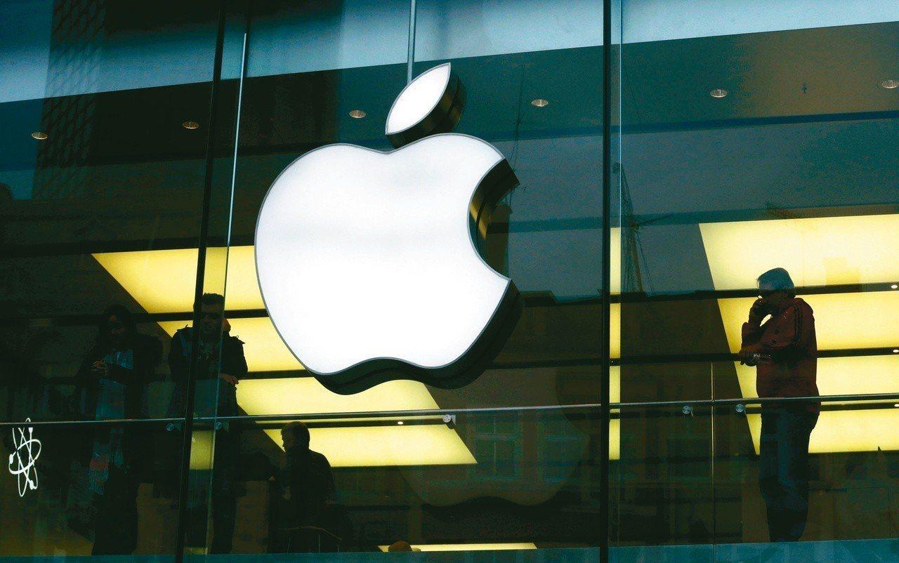 蘋果傳深耕智慧鍵盤。路透
