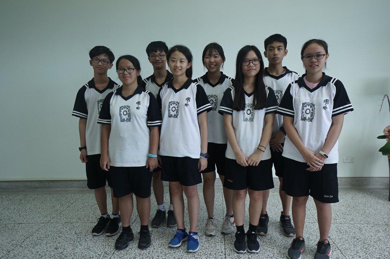 花蓮國風國中學生今年在會考也有突出表現。 記者王燕華/攝影