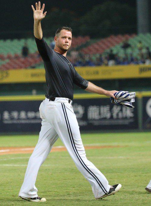 中信兄弟先發投手完成中華職棒史上第七場無安打比賽。記者黃仲裕/攝影