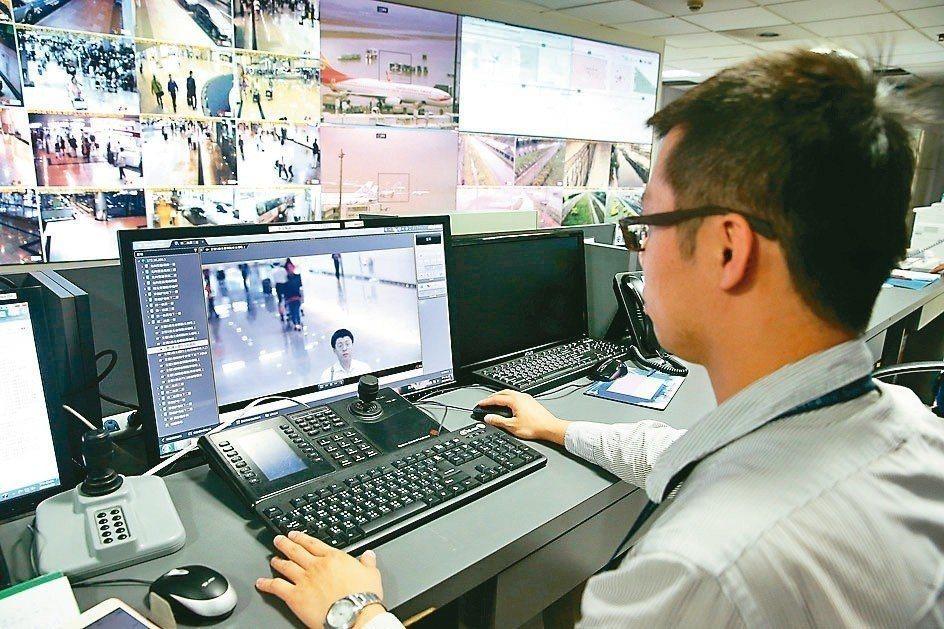 桃園機場建置的人臉辨識警報系統,可鎖定特定對象臉部特徵,只要此人進入機場航廈系統...