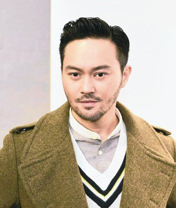 香港男星張智霖。