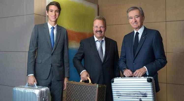 (左至右)RIMOWA CEO Alexandre Arnault、RIMOWA...