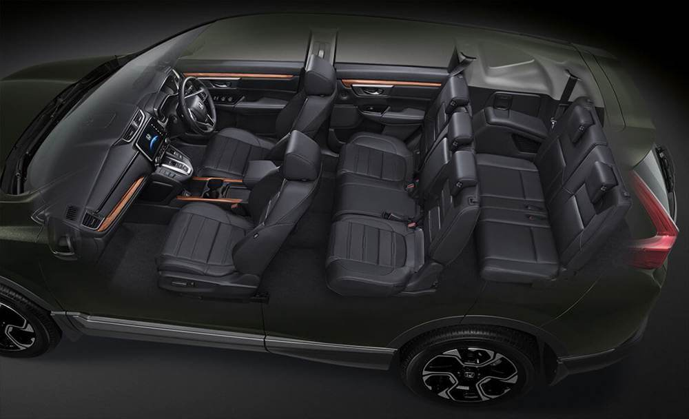 無論日規還是歐規Honda CR-V,皆主打有7人座車型可選,這也是台灣銷售規格...