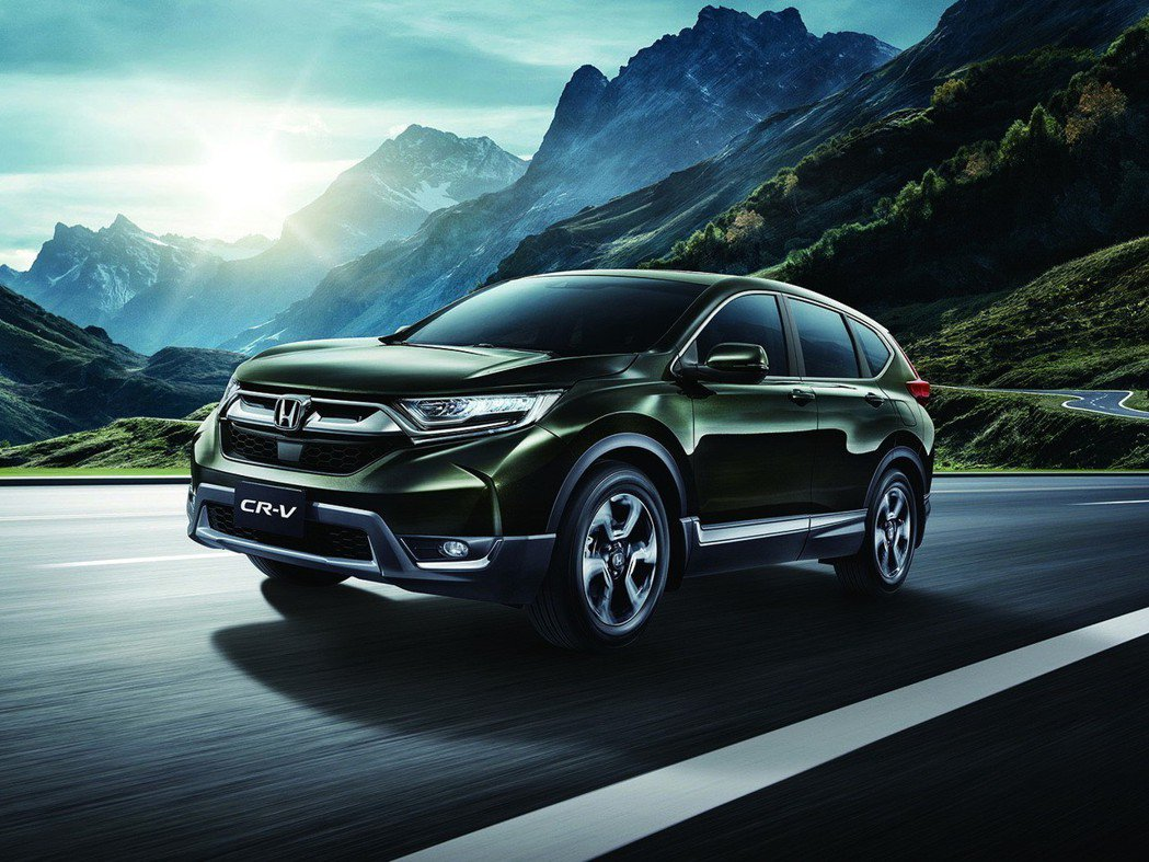 上個月Honda CR-V大賣2,164輛,成為單月銷售新冠軍。 圖/Honda...