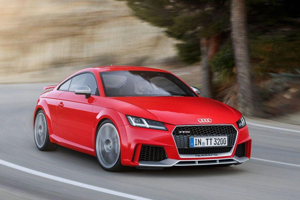 Audi TT RS。 Audi提供