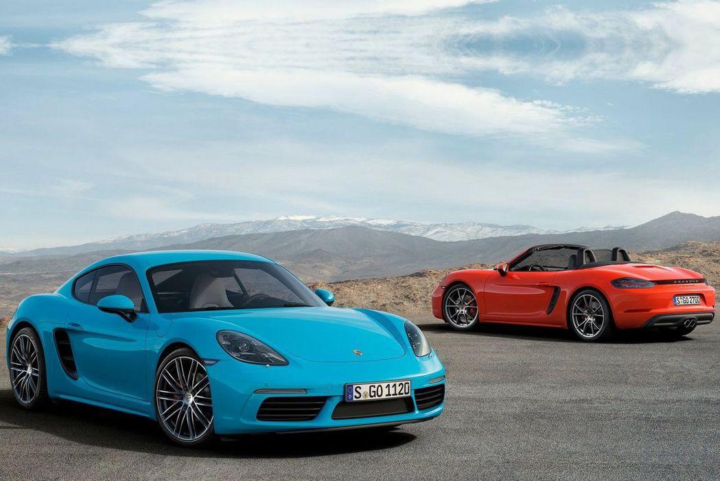 Porsche 718 Boxster/Cayman 圖/Porsche提供