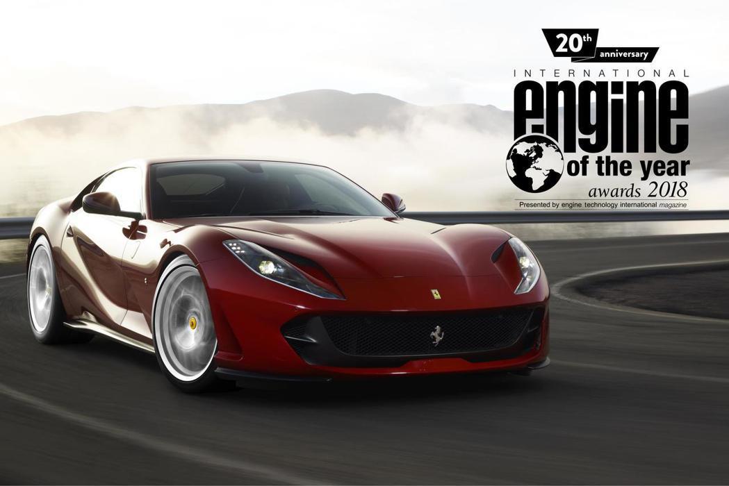 Ferrari今年再拿下最佳新引擎大獎。 圖/Ferrari提供
