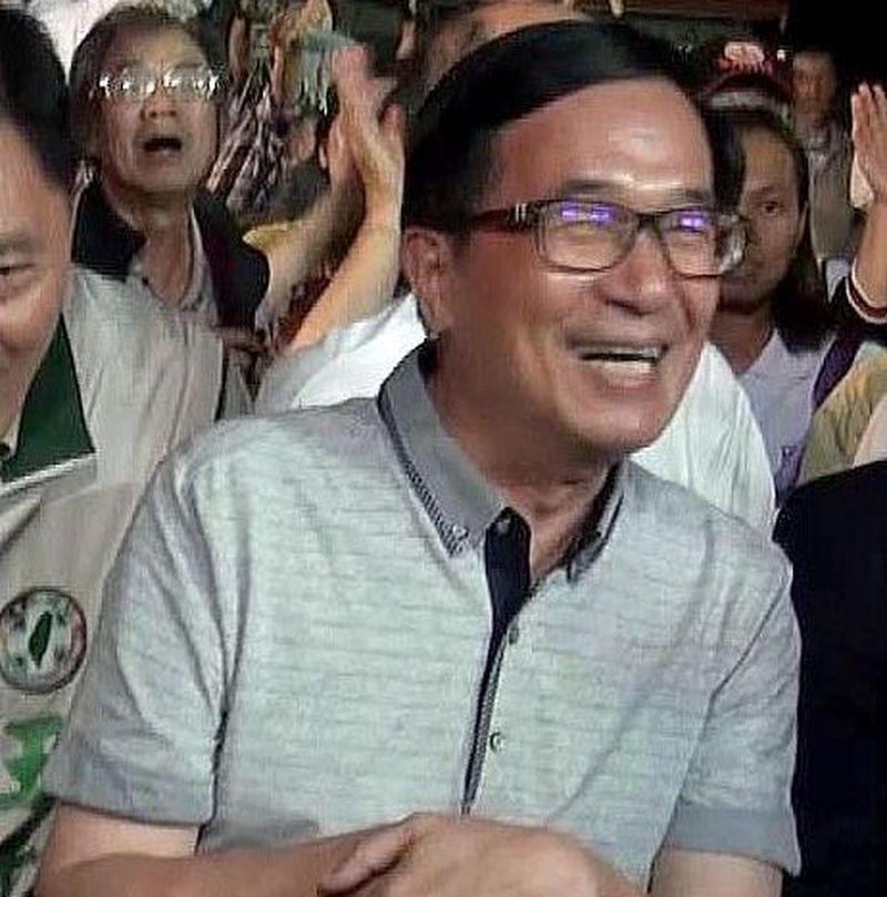 前總統陳水扁今天預告,今年12月間可能會在音樂會中高歌一曲。圖/聯合報資料照片