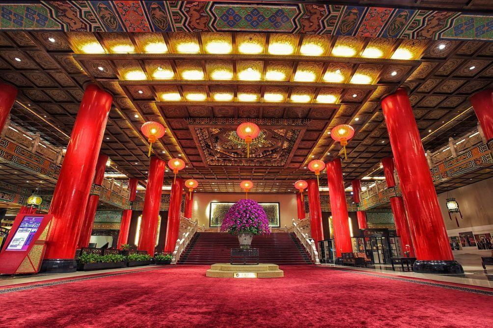 圓山大飯店是外國元首來台下榻的首選。圖/Hotels.com提供