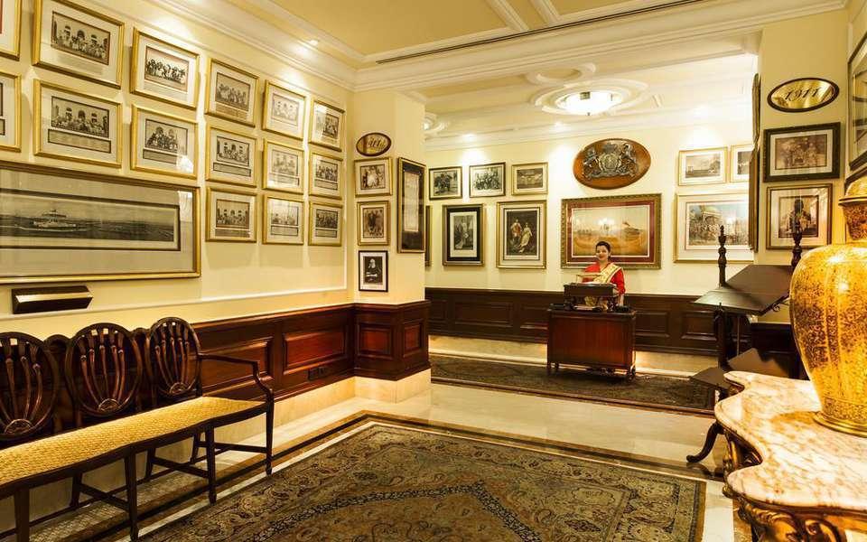 新德里帝國飯店有不少見證歷史的紀錄。圖/Hotels.com提供