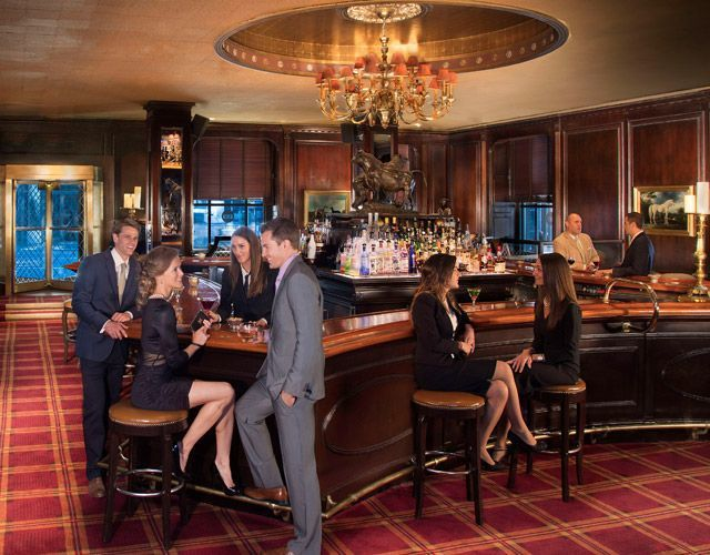 通往火車站的秘密通道─紐約華爾道夫阿斯托里亞飯店。圖/Hotels.com提供