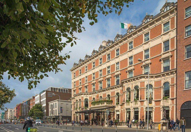 舒爾本都柏林萬麗飯店,是愛爾蘭最古老的飯店。圖/Hotels.com提供