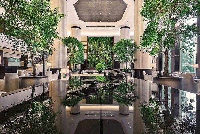 新加坡香格里拉飯店原本是大家認為極有機會勝出成為「川金會」會場的飯店之一。圖/H...