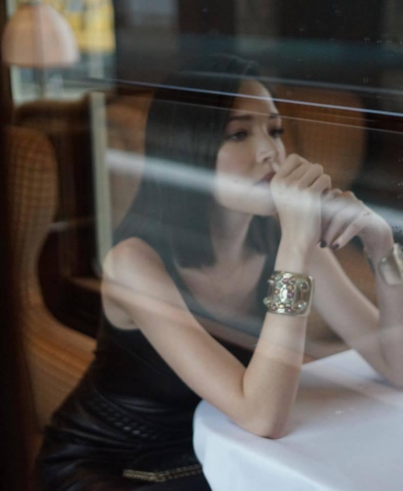 許瑋甯為香奈兒香氛活動前往巴黎。圖/摘自許瑋甯臉書