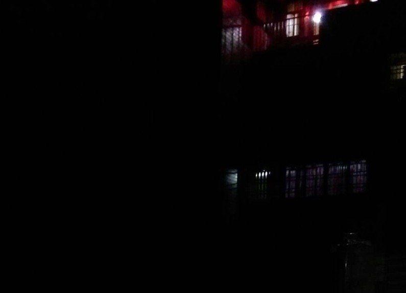 雲林縣斗南鎮晚間傳出多處路燈停電。記者陳雅玲/攝影
