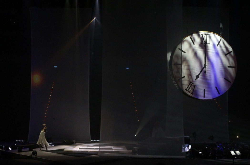 齊豫和潘越雲9日在台北小巨蛋聯手開唱。記者許正宏/攝影